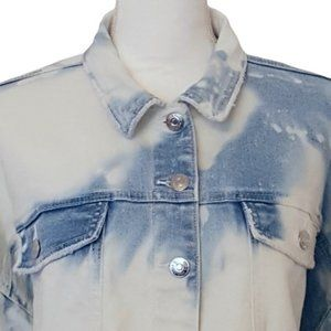 Wild Fable Crop Tie Dye Jean Jacket-Medium NWT